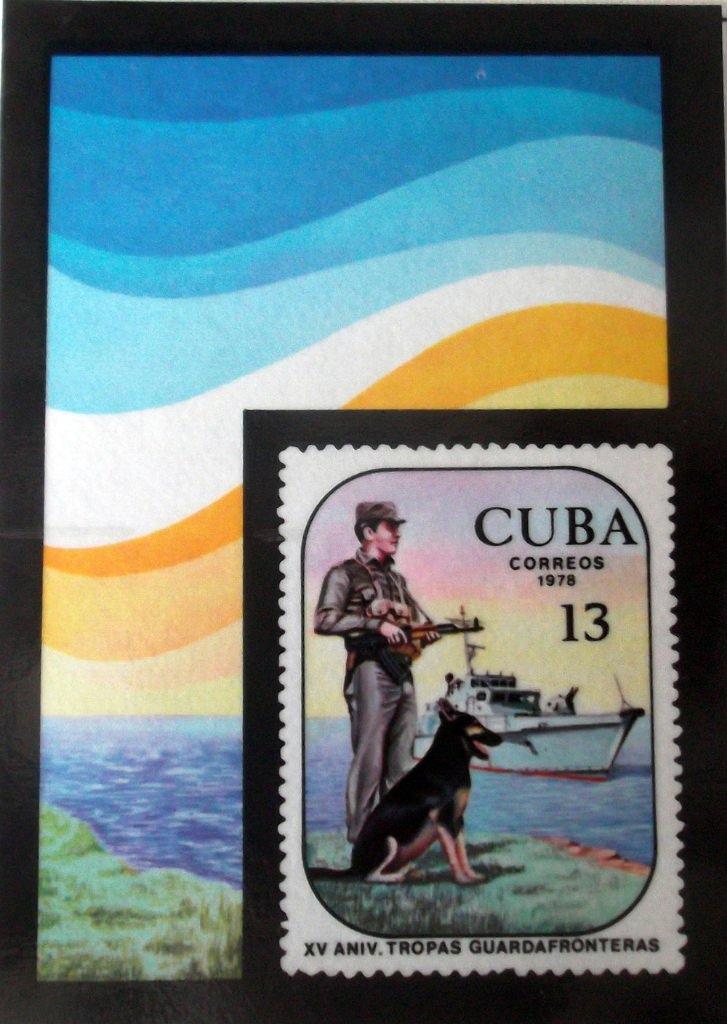 Календарик на 1979 год - 15-я годовщина пограничных войск 1978 год