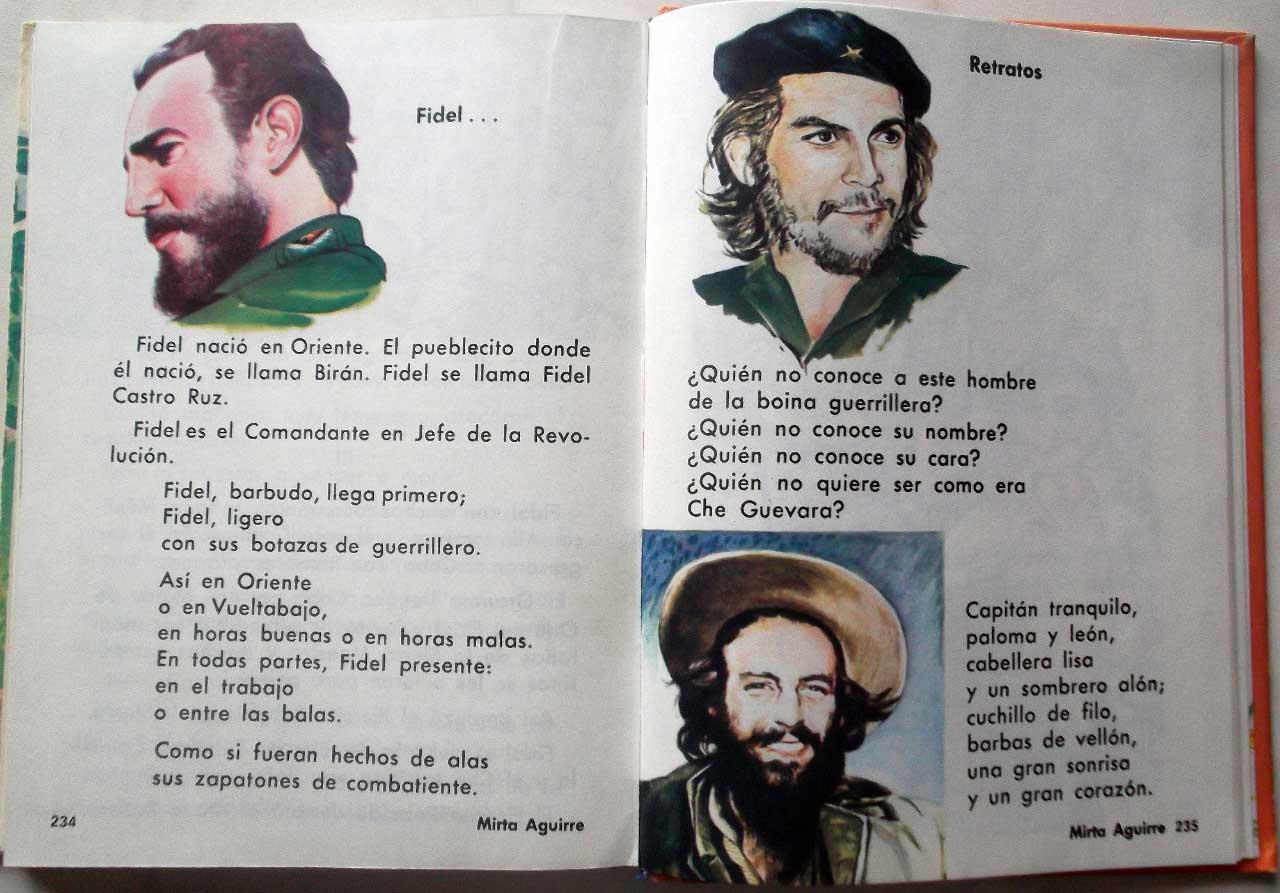 Кубинский учебник по чтению для 1 класса. Стр. 234-235