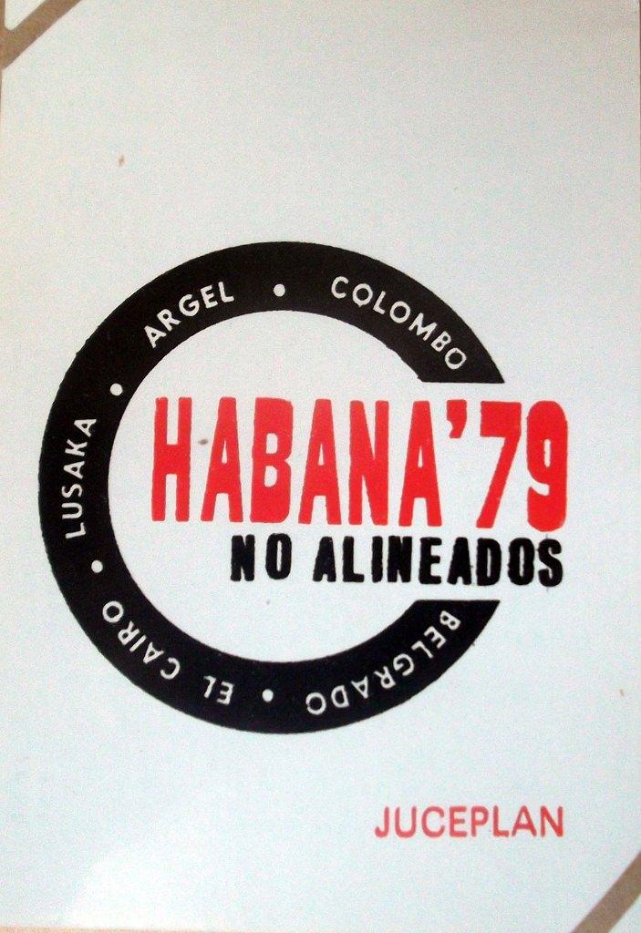 Календарик на 1979 год - Саммит Движения неприсоединения в Гаване в сентябре 1979 года