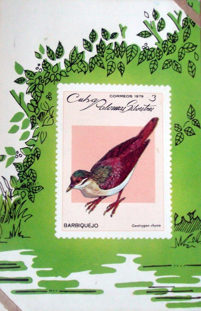 137. Календарик на 1980 год - Дикие птицы