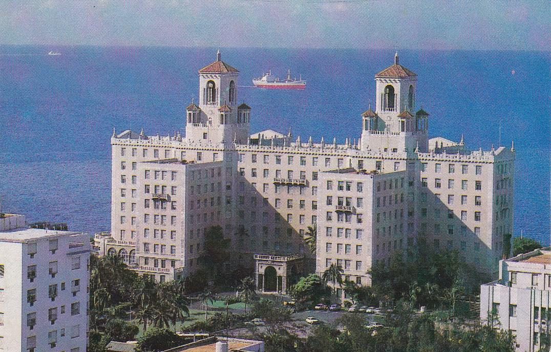 Календарик на 1982 год. Отель «Националь». Титул.