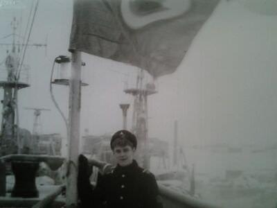 005. Я на СС «Агатан» 1982 год