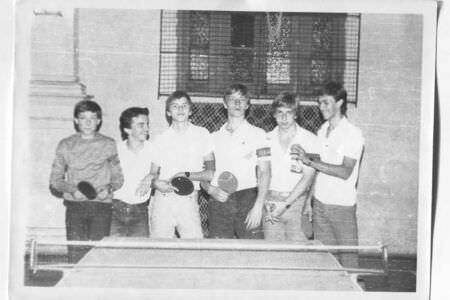 014. 1986 год, турнир по теннису в школе