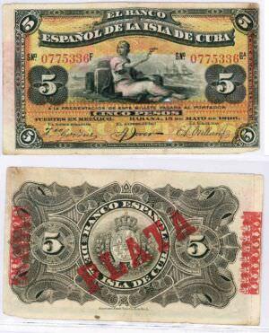 384. 5 песо 1986 года
