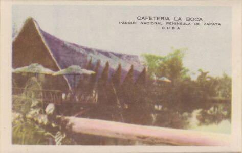 194. Индейская деревня, гармошка открыток, 2 кадр
