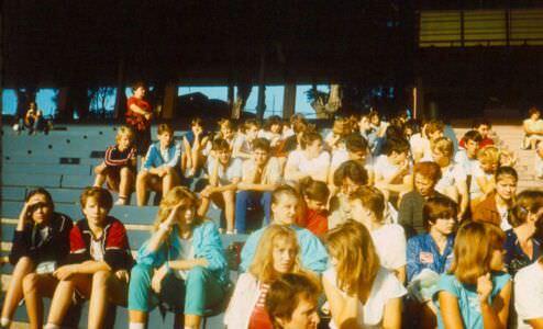 037. 1987 год, соревнования на стадионе Педро Мареро.