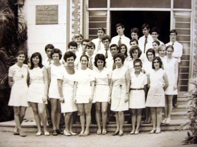 10 «В»  1974-1975  учебный год -1