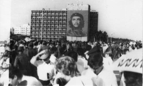 122. Праздничный митинг в Гаване. Приезд Л.И. Брежнева в 1973 году.