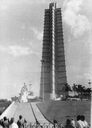 125. Праздничный митинг в Гаване. Приезд Л.И. Брежнева в 1974 году.