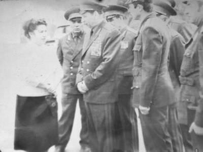 1980-1981. Визит на Кубу нач штаба ВС СССР маршала Огаркова