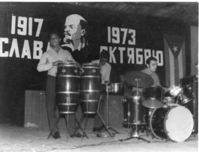 204. Концерт в клубе бригады.