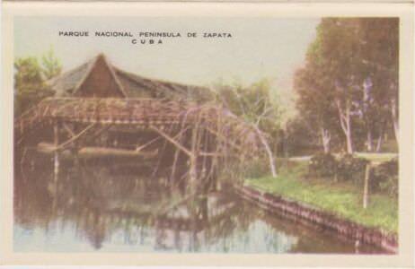 199. Индейская деревня, гармошка открыток, 7 кадр