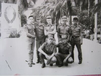 1982-1983. Дорога у ТБ справа 2рота