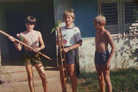 1982. Cuba82 и его друзья-одноклассники