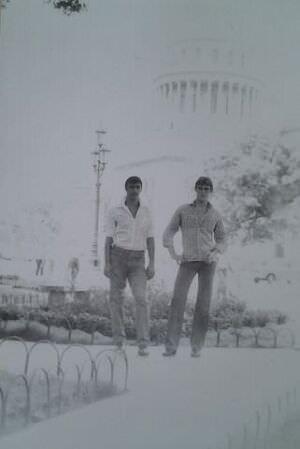 104. Гарник Аракелян и я в Гаване