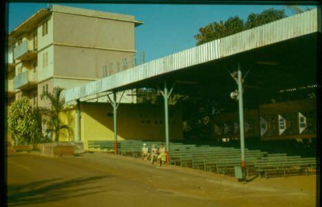 1980. Советский кинотеатр в Роло.