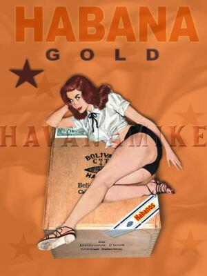 50-е годы. Реклама сигар.