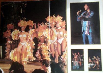 025. Рекламный журнал кабаре «Тропикана». 80-е годы. -13