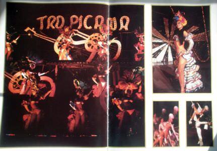 Рекламный журнал кабаре «Тропикана». 80-е годы. -16
