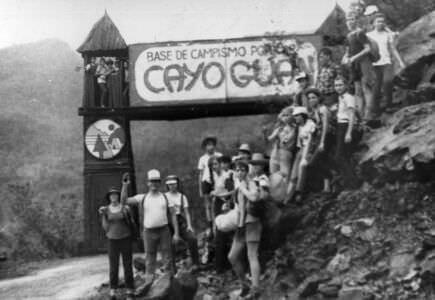 1986. Весна. Поход на Кайо Гуан.