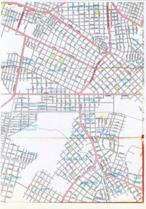 503. 1956. Карта Кубы и Гаваны. 1 лист, 7 фрагмент