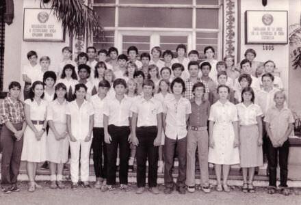 8 «В»  1982-1983  учебный год