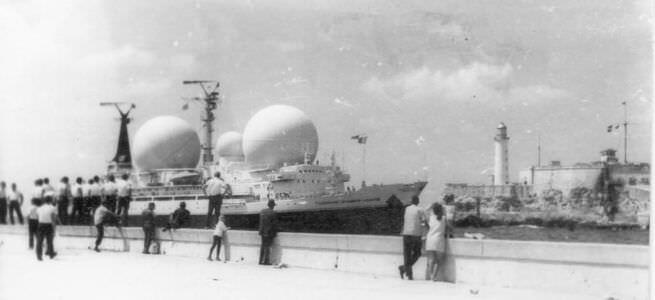 1973. Вход в Гавань