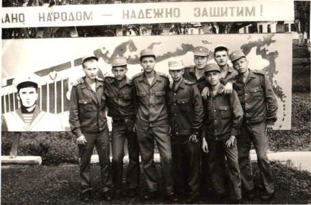 1979-1981. Закидные первой танковой роты
