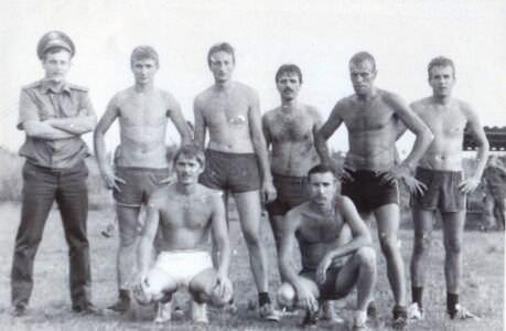 1988-1989. «Орбита». Футбольная команда