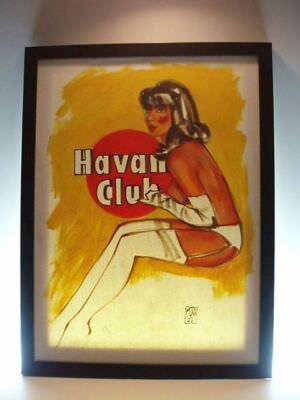 70-е годы. Реклама рома «Гавана-Клаб», открытка