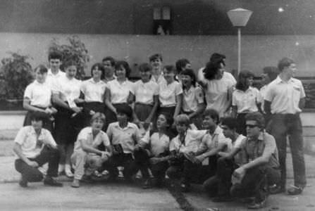 1987-05-15. 8 «А». Окончание учебного года.