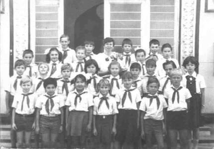 4 «Д»  1986-1987  учебный год