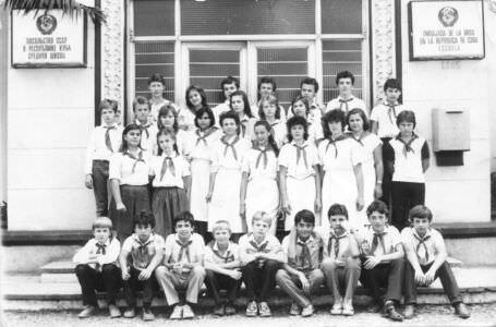 7 «Д»  1986-1987  учебный год