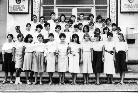 8 «Д»  1986-1987  учебный год