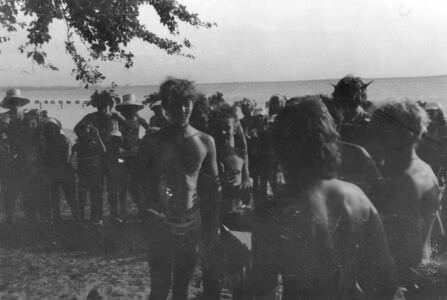 1987. В пионерском лагере на острове Рауля.