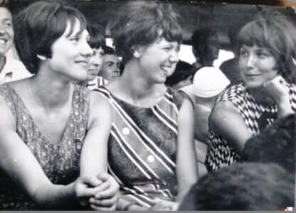 1968-1970. Советские волейболисты приехали на Кубу на какое-то соревнование