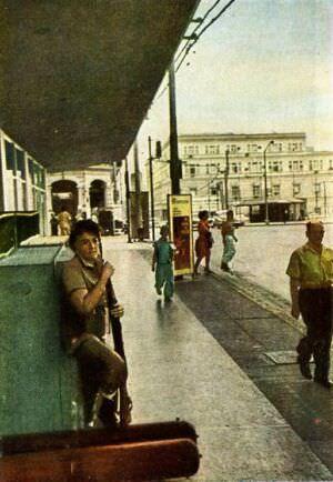 31. Гавана. На посту. Цветное фото В. Киврина.