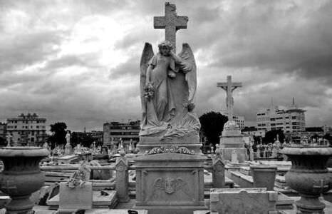 1973. Кладбище Колумба.