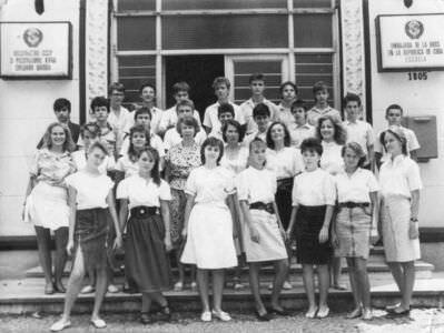 8 «В»  1988-1989  учебный год