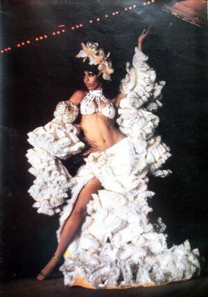 017. Рекламный журнал кабаре «Тропикана». 80-е годы. -05