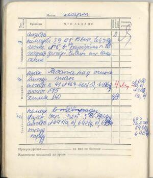 056. 1974-1975. 7 класс. Март