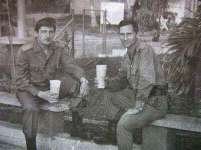 065. На территории двадцатого батальона (20 ОМСБ)