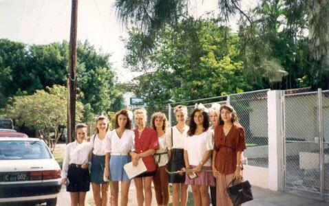 10-й и 11-й классы  1993-1994  учебный год (Малая посольская школа)