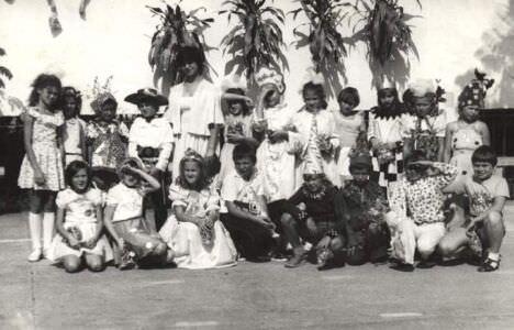Начальная школа Новой Деревни, 3-й класс 1986-1987 учебный год