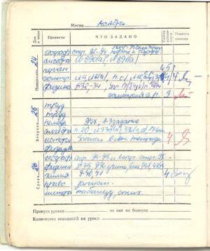 090. 1975-1976. 8 класс. Ноябрь