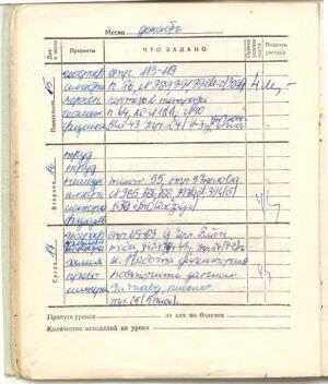 095. 1975-1976. 8 класс. Декабрь