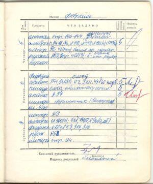 103. 1975-1976. 8 класс. Февраль