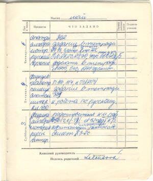121. 1975-1976. 8 класс. Май