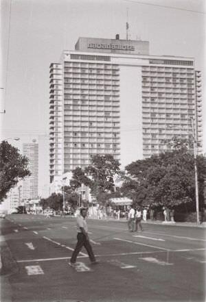 1986-1987. Vedado hotel Habana Libre - 1.