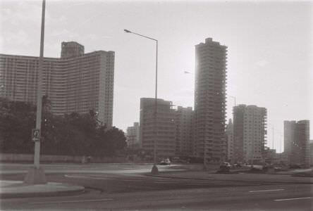 1986-1987. Вид на Fox с набережной Malecon.
